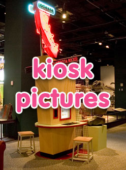 kiosk pictures button