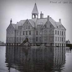 A flooded building