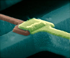 Nanoscale Interface for Spin Injection, Raj Mohanty, Boston University