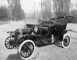 The Model T: This car was available to the masses and was sold all over the world.