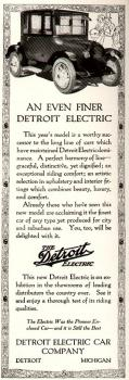 The Detroit Electric: Seeing this ad and reading about new EVs makes me feel like I'm in a time warp.