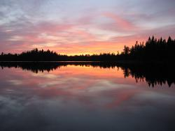 One of the many lakes of the Boundary Waters: It's a nice place.