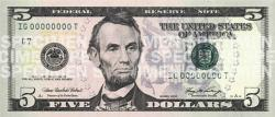 Purple Abe: The redesigned $5 bill will have a purple tint to it along with other security details.
