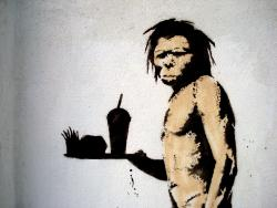 How does food matter to human evolution? We could ask this guy?