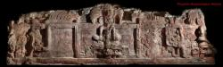 The full frieze: Here's a panoramic view of the full frieze found in Guatemala.