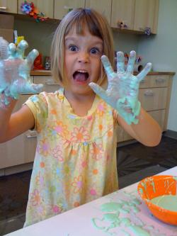 Make some oobleck: It won't stop the oil flowing into the Gulf of Mexico, but it's fun, and you'll learn something about non-Newtonian fluids while you're at it.