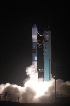 WISE take off: WISE launched aboard a United Launch Alliance Delta II rocket from Space Launch Complex-2 at Vandenberg Air Force Base.