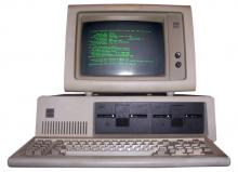 IBM PC: source;  Wikipedia Commons