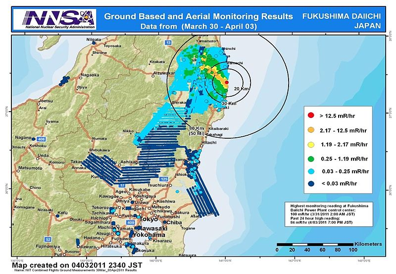 Japan\'s nuclear crisis now graded a 7, the same as Chernobyl ...