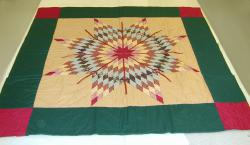 Star Quilt, Dakota; Collection of the Science Museum of Minnesota A91:13:1