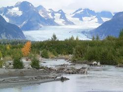 Georgeous Alaska: Ok, so this was not taken by Jeff Jones, but Flickr user B Mully did a pretty great job of capturing Sheridan Glacier in Cordova, Alaska, right?  I love me some pretty photos.