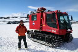 Getting around in Antarctica requires some special vehicles.