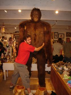 The friendly gift shop Bigfoot: Know it. Know it well.