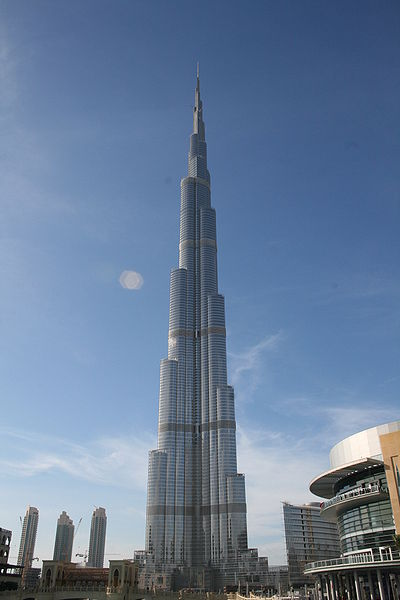 Burj Dubai, the world's tallest building, opens today  It is