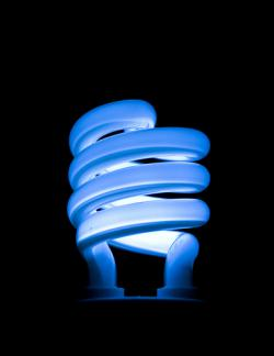 You'd be blue, too: Compact fluorescent light bulbs save energy, but come with a number of problems.