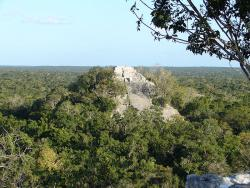 Calakmul: I'm not sure if this is the spaceport or the Institute for Marketable Prophesies.