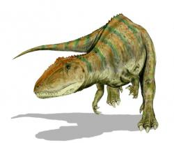 The carcharodontosaurus: It died shortly after attempting to pronounce its own name.