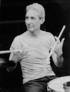 Healthy Stone: No wonder Charlie Watts is the healthiest looking Rolling Stone. Drumming a 90-minute rock set is the equivalent of running a 10K race.