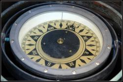 Nautical Compass: These directional devices keep ships from running aground.  Smaller hand-held devices are superior for foot travel.  Either way, you had better have one of these if your attempting your own expedition.