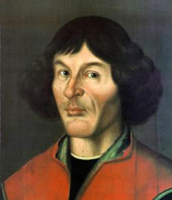 "Nicolas ""Sly dog"" Copernicus: What's he thinking about? What's he looking at? The stars? Young research assistants? His future as a cyborg?"