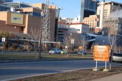 Kate's photos, 3/18 (1): Shepard/Warner roads will close from Chestnut Street to US 61 starting Saturday morning, and could remain closed for weeks. Take your river sightseeing drive/bike ride/walk before then!