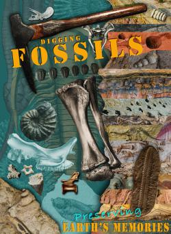 National Fossil Day art contest entry: and Third Place winner.