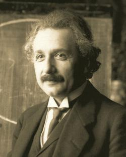Albert Einstein c. 1921: Photo by Ferdinand Schmutzer