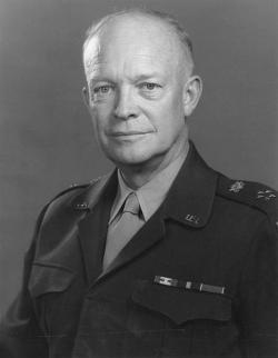 President Eisenhower: He doesn't disapprove of you chewing gum, but he doesn't like it.