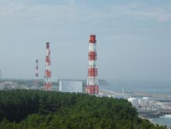 The Fukushima plant: Before the earthquake.