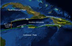 The Enriquillo fault: Only the western half of the Enriquillo fault ruptured during Haiti's January earthquake.