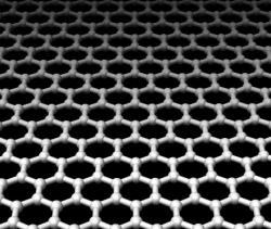 Graphene transistors: Graphene is an atomic-scale chicken wire made of carbon atoms.