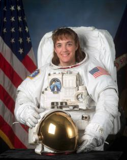 Astronaut and St. Paul native Heidi Stefanyshyn-Piper