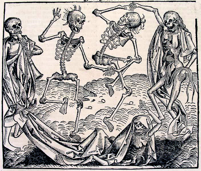 video games and learning exploring difficult content the black  the black plague artwork external image holbein death jpg