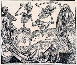 Danse Macabre: Artwork Inspired by the Black Plague.