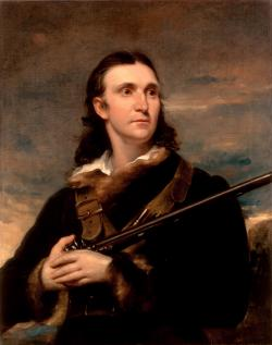 John James Audubon: portrait by John Syne, 1826