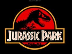 Jurassic Park: Logo of the film.