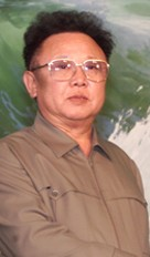 He's fusing hydrogen isotopes in his brain right now: Such is the power of Kim Jong-Il.