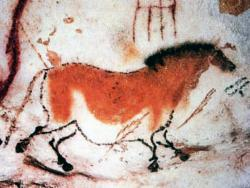Ancient wall art at Cave at Lascaux, France: Was music used here to soothe the savage breast?