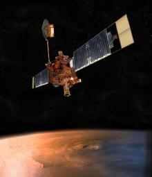 Mars Global Surveyor: Image courtesy NASA/JPL-Caltech.