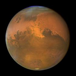 Mars.  So close, and yet not: Image courtesy NASA and ESA.