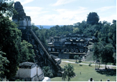The thousand-year-old temple in Maya city of Tikal