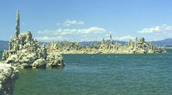 The shores of the alien world: Mono Lake, California, Earth.
