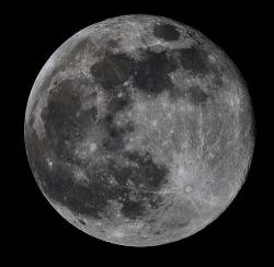 Old moon?: The moon cooled to a solid 4.4 billion years ago.