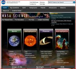 NASA Science website