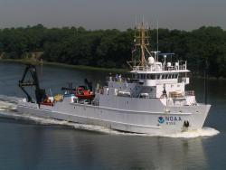 NOAA Research Ship Nancy Foster: Nancy Foster supports applied research primarily for NOAA's National Ocean Service and Office of Oceanic and Atmospheric Research.