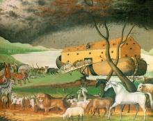 Noah's Ark: by Edward Hicks