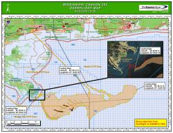 Oil spill advances toward Gulf coast: New overflight map updated 10:00 a.m. April 29, 2010 - National Oceanic and Atmospheric Administration (NOAA)