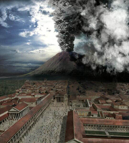 Pompeii pressure: Vesuvius may be easing up | Science Buzz