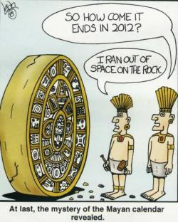 Mayan calendar: The Mystery revealed.