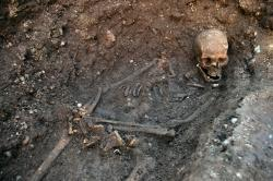 Royal bones: This is how archaeologists found the bones of King Richard III buried beneath a parking lot in Greyfriar's, England.